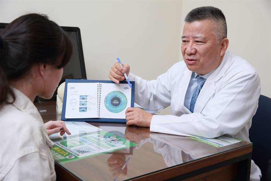 現今生活與3C產品密不可分,近視率攀升不下,不少患者考慮透過雷射新技術改善視力。/圖微笑眼科提供