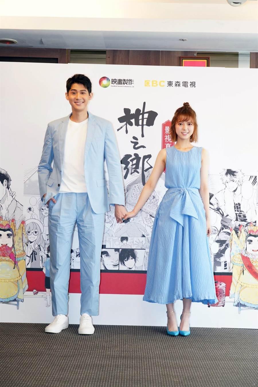 新戲《神之鄉》23日公佈主角卡司李玉璽、項婕如。(映畫提供)