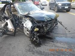 台3線長下坡失速奪命 翁駕車自撞愛妻慘死車內
