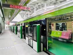 台中捷運公告綠線票價 5公里以內訂價20元