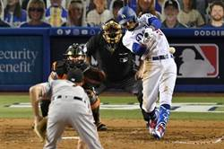 MLB》道奇「雙貝」合體 痛打巨人奪首勝