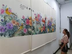 中和警分局文化藝廊揭牌 人文藝術新氣象