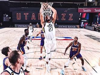 NBA》停賽「罪人」上場!戈貝爾首戰吞敗