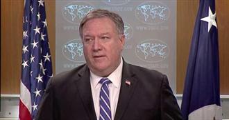 美國務卿再發言相挺 宣示美軍加強臺灣海峽航行自由任務