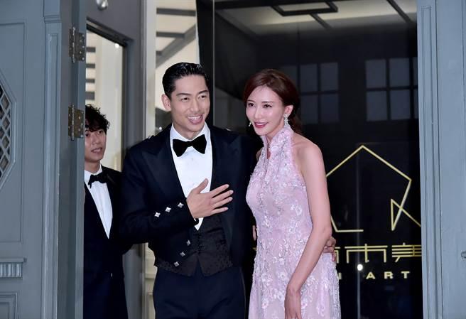 林志玲去年與AKIRA在台南舉行盛大婚禮,全台民眾都為她開心。(本報系資料照)