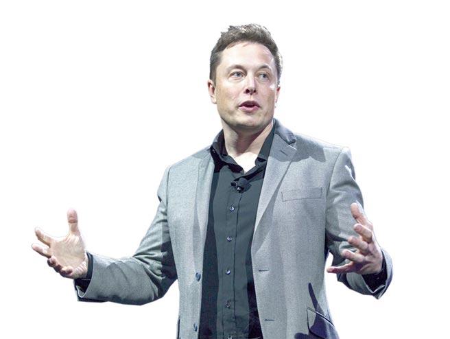 特斯拉創辦人兼執行長穆斯克(Elon Musk)。圖/美聯社