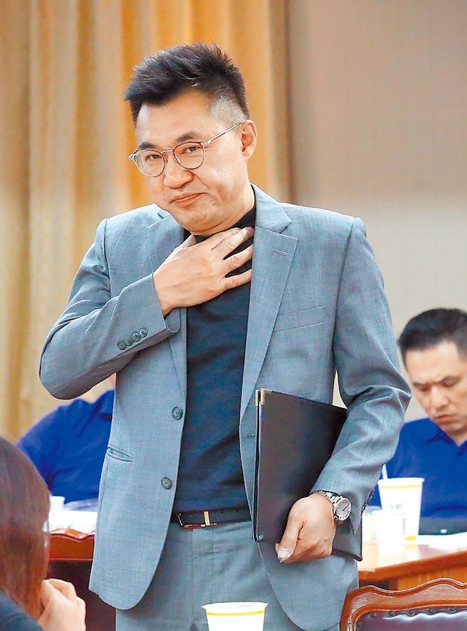 國民黨主席江啟臣親自打電話給李眉蓁,將論文風波定調為「公開道歉、放棄學位」的原則止血。(本報資料照片)