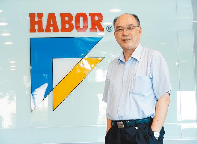 哈伯精密公司董事長許文憲,也是台灣區工具機暨零組件工業同業公會理事長。(黃國峰攝)