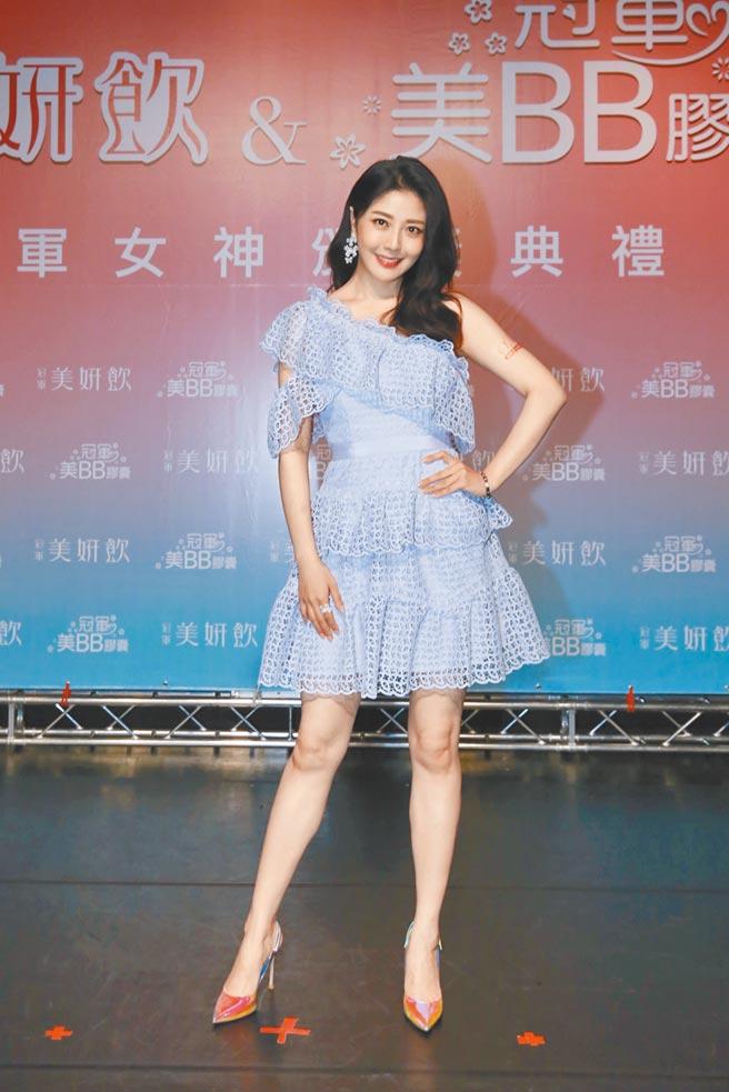 韩瑜昨出席活动畅聊近期拍戏甘苦。(冠军团队提供)