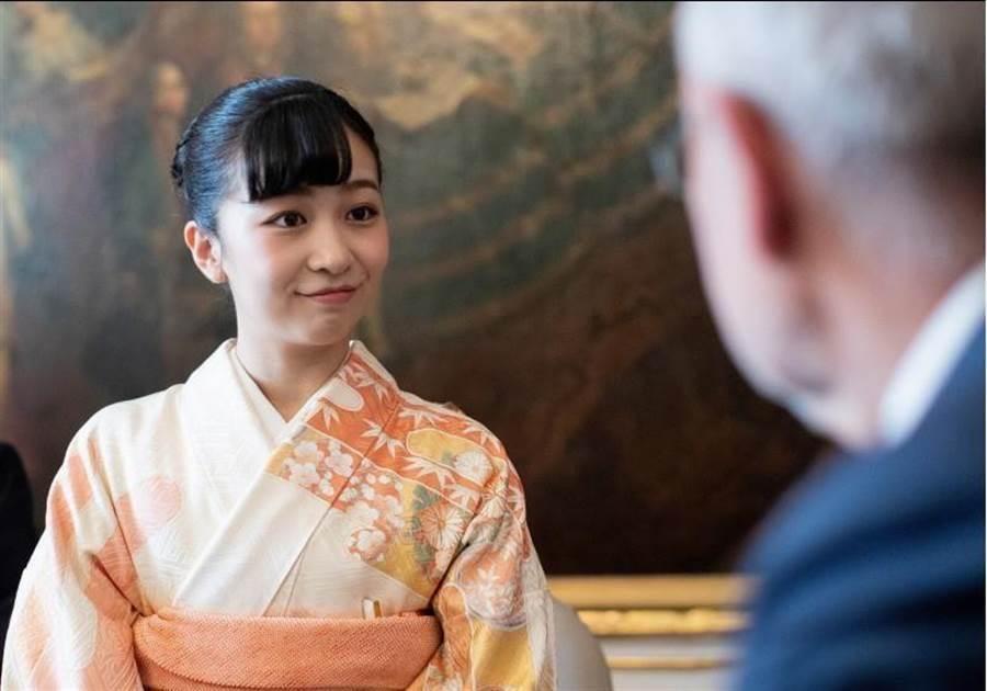 「日本最美公主」佳子公主。(路透)