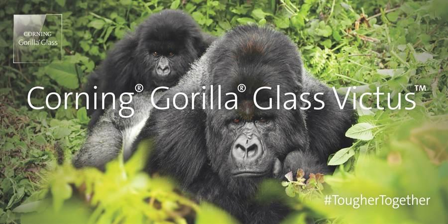康寧推出最新的突破性玻璃技術-Corning Gorilla Glass Victus。(康寧提供/黃慧雯台北傳真)