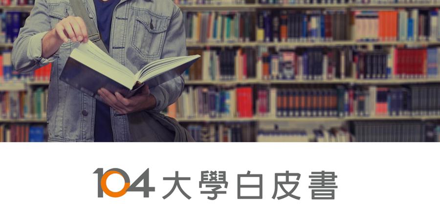 104人力銀行公開2020年《104大學白皮書》。(104人力銀行提供/黃慧雯台北傳真)