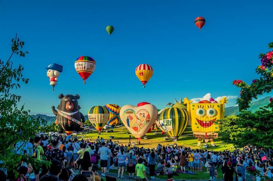 2020 臺灣國際熱氣球嘉年華/圖由台東縣政府提供