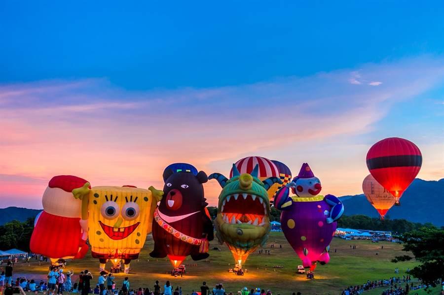 十年來累積了數百萬來自各國的遊客慕名前往/圖由台東縣政府提供