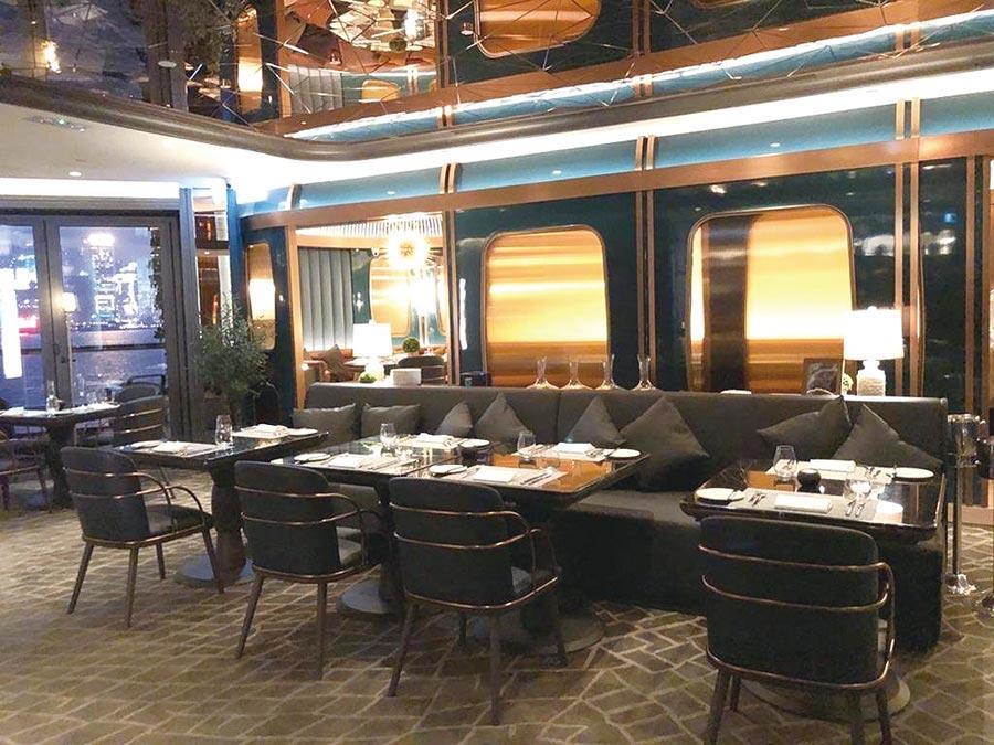 嚐‧高美集團代理經營的香港米其林一星餐廳Tirpse。圖/業者提供