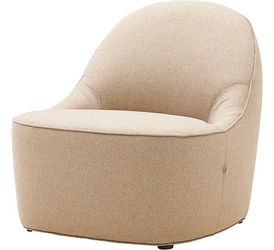 2020年居家流行色 「寧靜黎明」Stone單人座沙發,1萬4880元。(iloom提供)