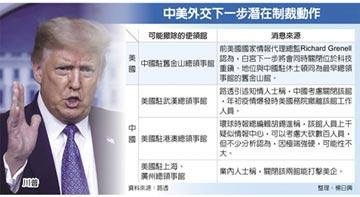 川普:還會關閉更多中國領事館