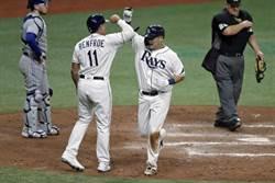 MLB》筒香嘉智初登板就開轟!苦主是柳賢振