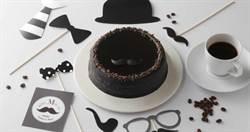 今年父親節蛋糕很MEN!黑色元素、紳士品味打造時尚爸爸