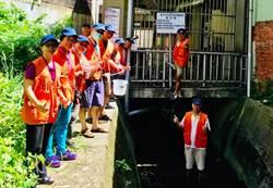 244歲河神烏瓦窯圳的守護天使康樂里水環境巡守隊,奪全國「特色級」榮耀