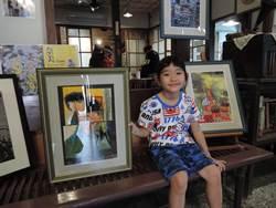 動人!媽媽鼓勵女兒學畫 從雲林到嘉義開畫展