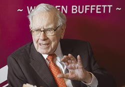 柏克夏持股總值逾240億美元 巴菲特砸8億美元 加碼美銀