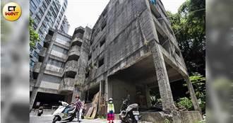 大樓變魚池1/「池塘鬼屋」存在20年成安全死角 居民憂心登革熱