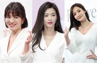 外國人票選最美韓國女星 宋慧喬跌到第6名、第1名竟是30歲的她