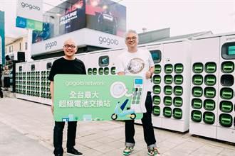 Gogoro最大電池交換站 蓋在高雄