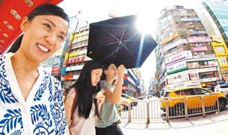 台北飆39.7度 破124年紀錄