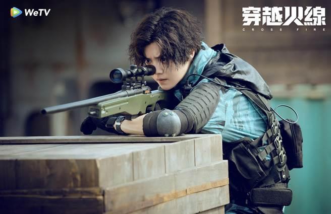 鹿晗主演的WeTV《穿越火線》。(WeTV提供)