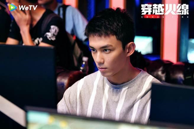 吳磊在《穿越火線》飾演熱血青年。(WeTV提供)