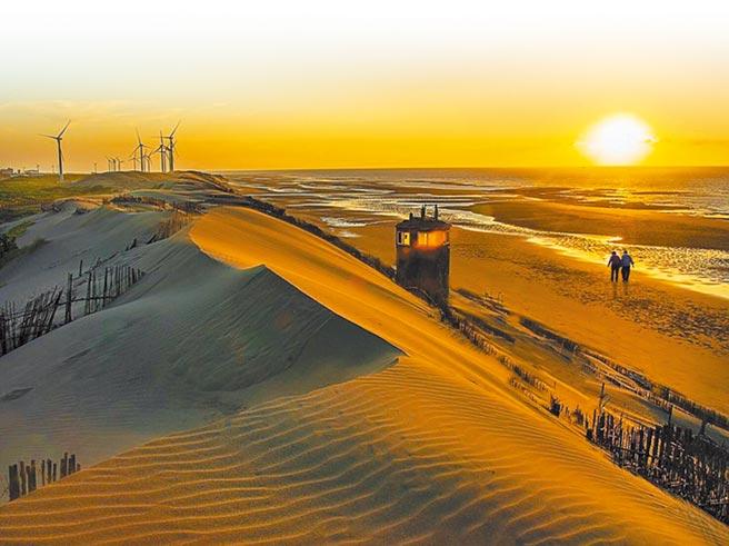 草漯沙丘被譽為台版沙哈拉。(本報資料照片)