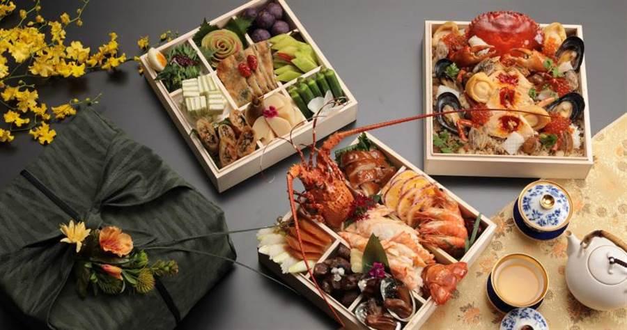 山海珍寶盒。(圖/山海樓提供)