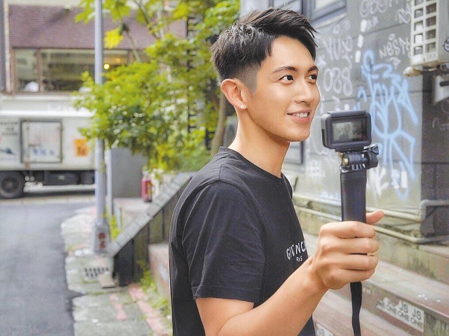 柯震東開立個人YouTube頻道,許多事都自己親手來。(禾豐九路提供)