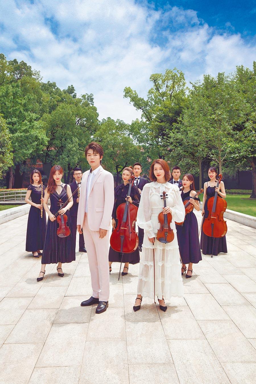 7月10日於上海外灘發表的音樂會直播,同樣受到許多讚賞。(Fendi提供)