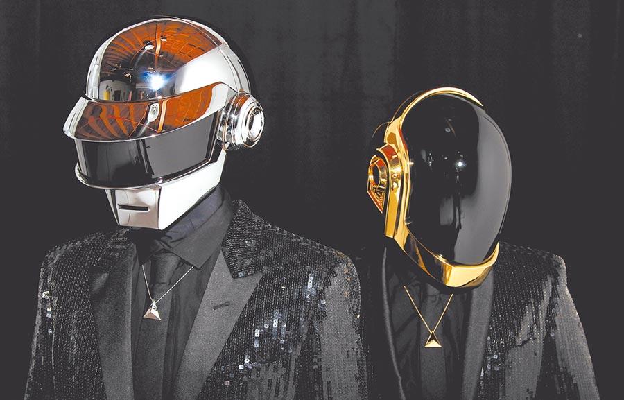 Daft Punk雙雙入榜Moncler和Panerai的串流歌單,足見其音樂實力。(美聯社)