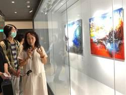 藝術家廖芳乙創作展 中友時尚藝廊即日起展出