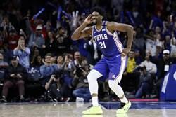 NBA》七六人噩夢再現 恩比德右腿不適缺陣