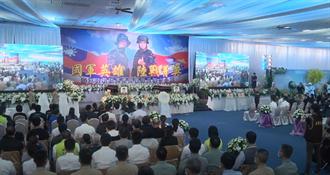 影》漢光演習2殉職海陸官兵聯合公祭 蔡英文到場悼念
