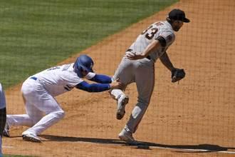 MLB》跑壘像傻瓜!道奇白輸一場給巨人