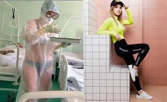 俄罗斯爆红「透明比基尼」护士 换身分跨行气象主播