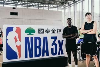 國泰NBA 3x台北站 大專男女球星齊聚