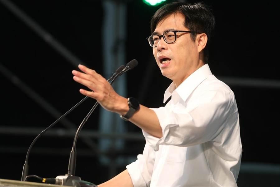 高雄市長補選,民進黨候選人陳其邁。(資料照,劉宥廷攝)