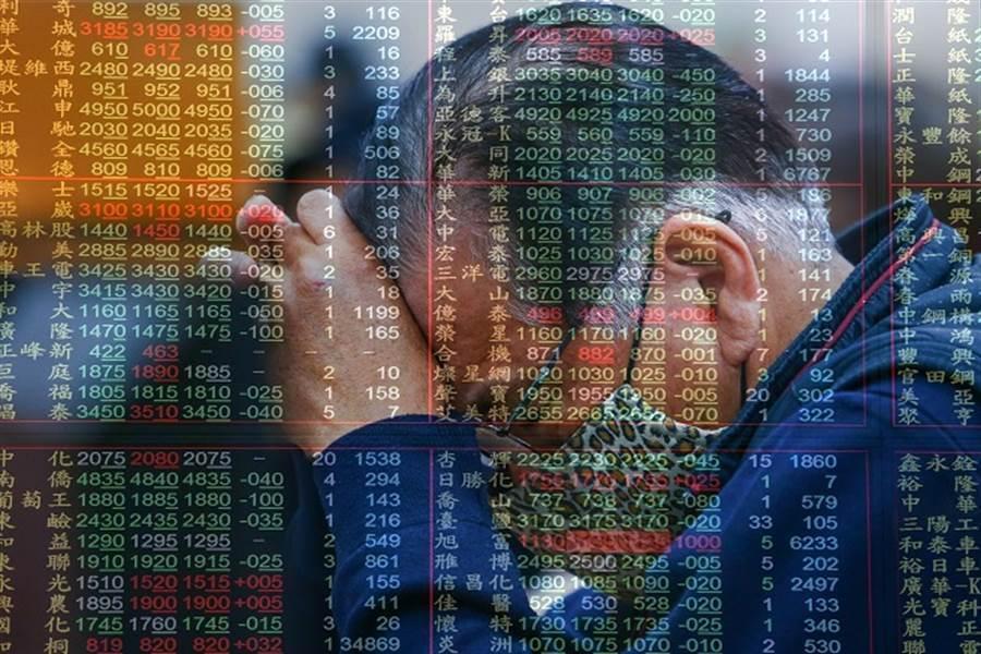 專家認為,大陸股市落後補漲、中小型股與生技股轉弱這三片烏雲逐漸壟罩台股。(資料照)