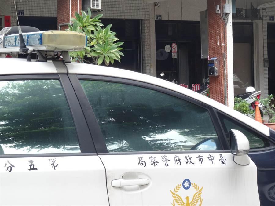 台中市北屯區發生砍人事件,轄區第五分局已著手介入調查釐清案發原因。(馮惠宜攝)。