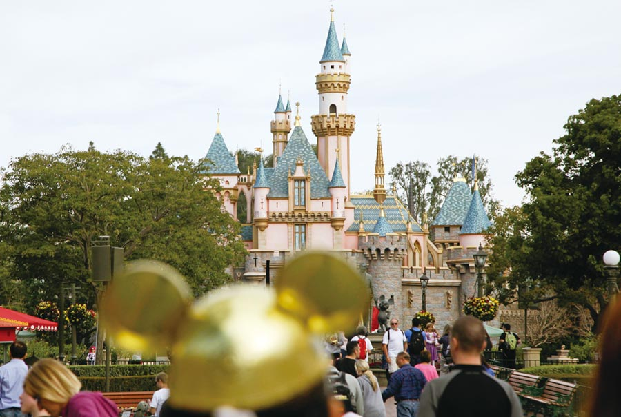 佛州迪士尼樂園重開圖╱美聯社