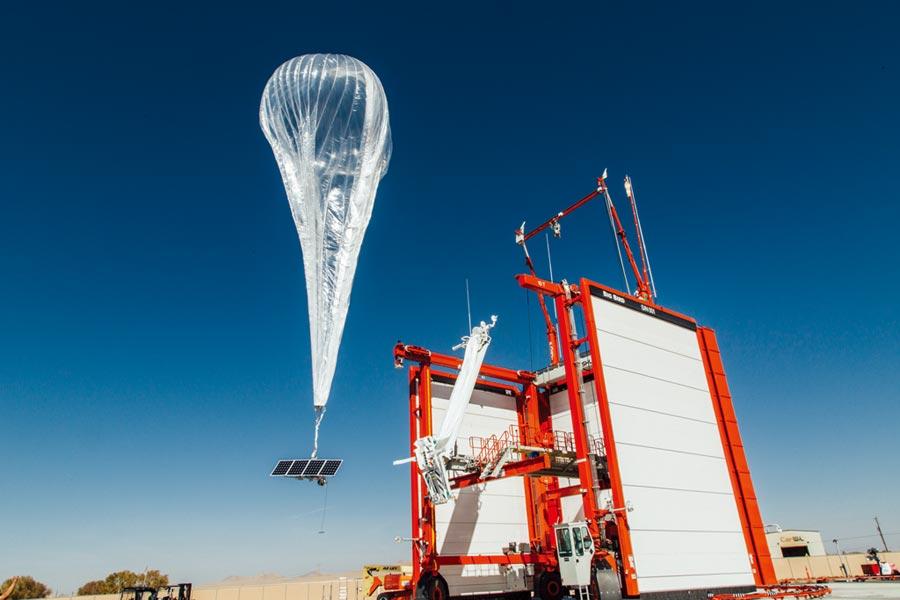 谷歌熱氣球肯亞升空圖╱路透