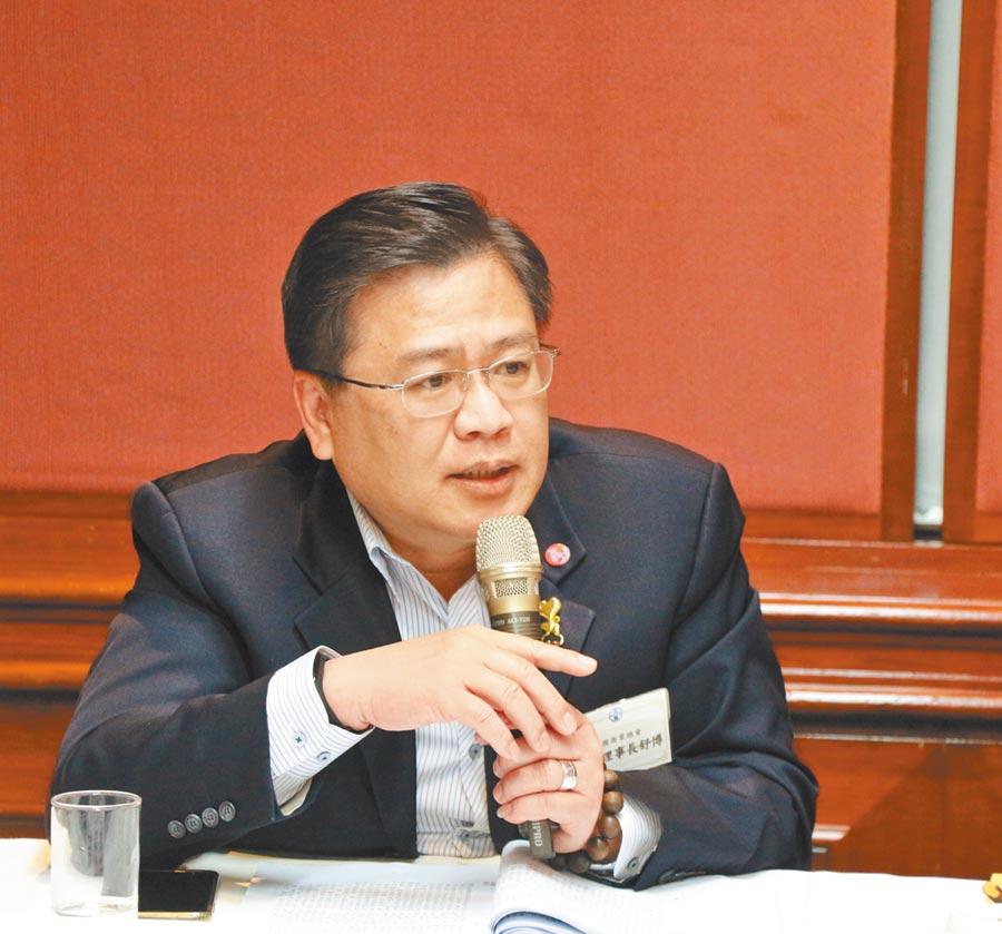 商總副理事長許舒博。(許舒博提供)