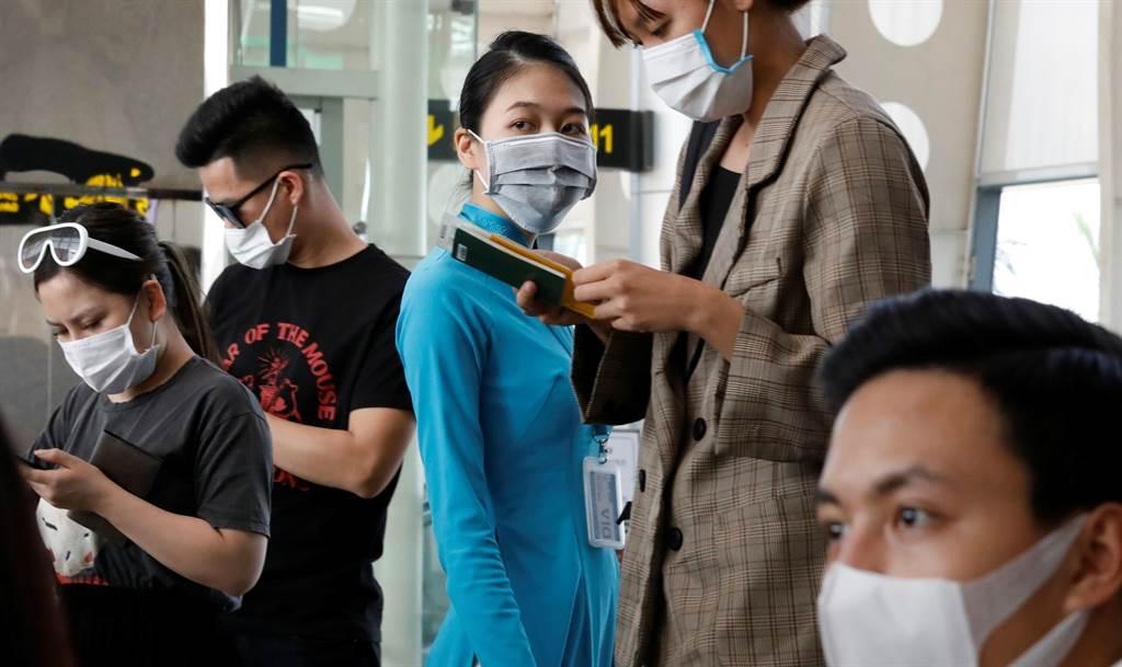 越南峴港出現新的新冠病毒病例,政府高度警戒。(圖/美聯社)